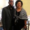 Xavier Epps of XNE Financial Advising, LLC and The Honorable Zoe Bush Presiding Judge Family Court of the Superior Court of DC at High Tea Society Civili-Tea Enough Incivility Event