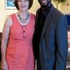 Xavier Epps of XNE Financial Advising, LLC and D.C. Council Member Ward 3 Mary Cheh at High Tea Society Civili-Tea Enough Incivility Event
