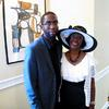 Xavier Epps and The Honorable Judge Mary Terrell (ret.), also Founder of The High Tea Society at High Tea Society Civili-Tea Enough Incivility Event