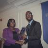 Xavier Epps of XNE Financial Advising - 2013 Entrepreneur Award at High Tea Society Event